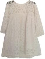 BRIGITTE Bardot White Cotton Dress for Women