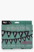 boohoo Chalk Board Bunting