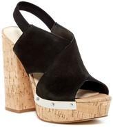 Fergie Luna Cork Platform Sandal