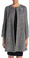 Armani Collezioni Boucle Wool Blend Coat