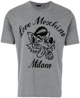 Love Moschino wolf print T-shirt