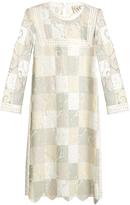 Sea Lace cut-out patchwork dress