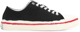 Marni 20mm Cotton Canvas Sneakers