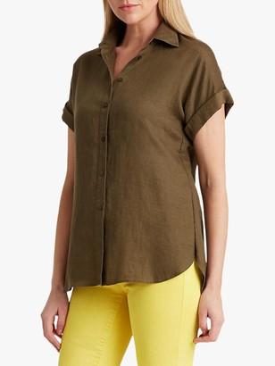 Ralph Lauren Ralph Broono Short Sleeve Linen Shirt