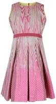 Mini Preen Pink Box Pleat Dress