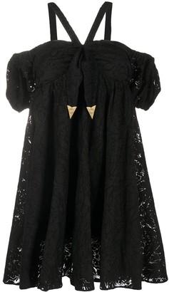 Versace Lace Mini Dress
