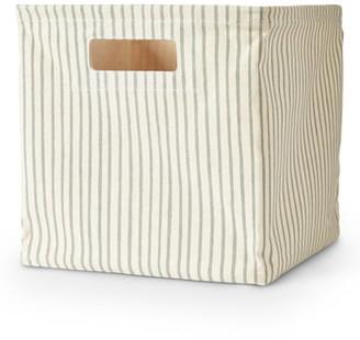 Pehr Stripes Away Medium Canvas Cube