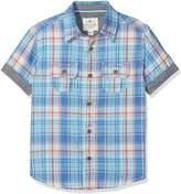 Fat Face Boy's Carbis Bay Check Shirt