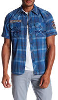 Affliction Mind Games Short Sleeve Regular Fit Shirt