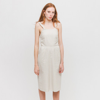Diarte - Gray Stripes Cesar Dress - XS - Grey
