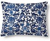 Ralph Lauren Dorsey Lotus Blossom Fretwork Sateen Boudoir Pillow