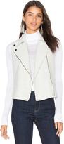 Heather Boucle Zip Vest