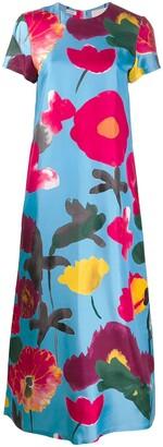 La DoubleJ Swing floral print dress