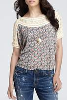 Free People Tribal Grunge Top