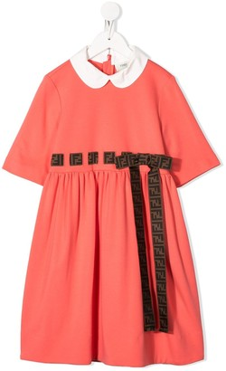 Fendi Ribbon Bow Detailed Dress