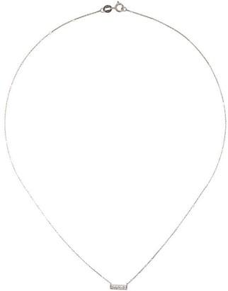 Dana Rebecca Designs 14kt white gold Sylvie Rose diamond bar necklace