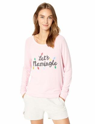 PJ Salvage Women's Let's Flamingle Long Sleeve