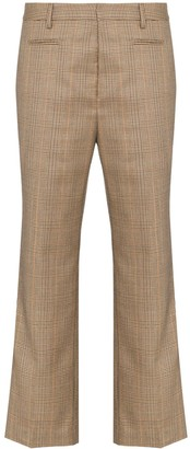 R 13 Checked Cropped Trousers