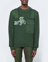 MHI Upcycled Croc Crew Knit
