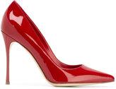 Sergio Rossi stiletto pumps - women - Patent Leather/Leather - 38