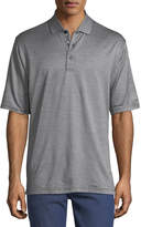 Bugatchi Heathered Cotton Polo Shirt