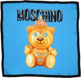 Moschino Teddy Silk Scarf
