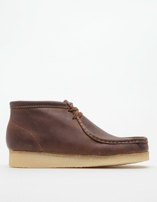 Clarks Men's Wallabee Boot in Beeswax, Size 7 | Leather