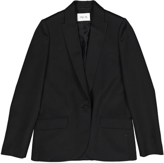 Pallas Black Wool Jacket for Women