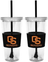 Oregon State Beavers 2-pc. Double-Walled Straw Tumbler Set