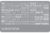 Nordstrom Many Thanks Gift Card $1000