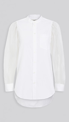 Sea James Organza Sleeve Shirt
