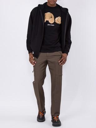 Side Pocket Cargo Pants Brown