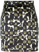 DSQUARED2 camouflage print mini skirt - women - Silk/Polyester - 38