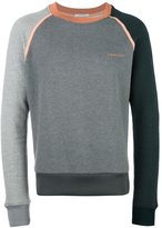 Carven contrast piping sweatshirt - men - Cotton - M