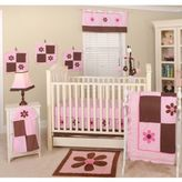 Pam Grace Creations Pam's Petals 10-Piece Crib Bedding Set