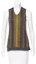 Marni Sheer Sleeveless Top