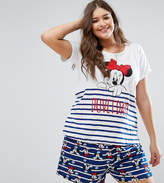 Yours Clothing Minnie Pajama Set