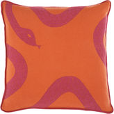 Snake Pillow - Orange