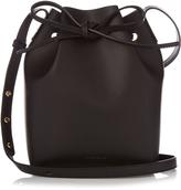 Mansur Gavriel Gold-lined Mini leather bucket bag
