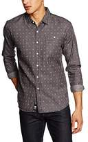 Crosshatch Men's Demsy Long Sleeve Casual Shirts