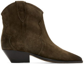 Isabel Marant Brown Dewina Boots