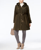 MICHAEL Michael Kors Size Quilted Trench Coat