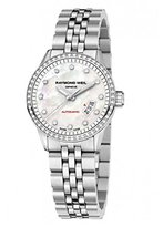 Raymond Weil Women's 2430-ST-97081 Freelancer Stainless Steel Silvertone Dial Watch
