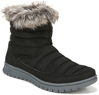 Ryka Quilted Faux Fur Pull On Booties- Suzy