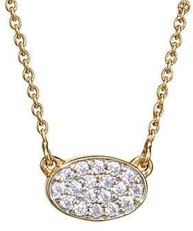 ginette_ny Women's 18K Rose Gold & White Diamond Mini Sequin Pendant Necklace