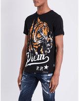 Philipp Plein Tiger Claw Cotton-jersey T-shirt