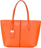 Tod's tag detail tote - women - Calf Leather - One Size