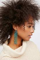 Free People Palmdale Color Crystal Earrings