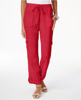 INC International Concepts Roll-Tab Cargo Pants, Created for Macy's