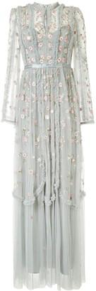 Needle & Thread Wallflower tulle gown